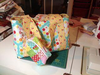 Hexie bagzipperbag